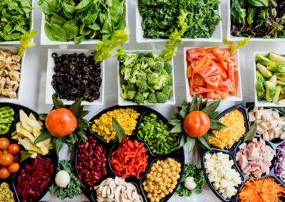 Hemsidor för restauranger - Grönsaker