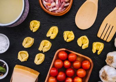 Hemsidor för restauranger - Ingredienser