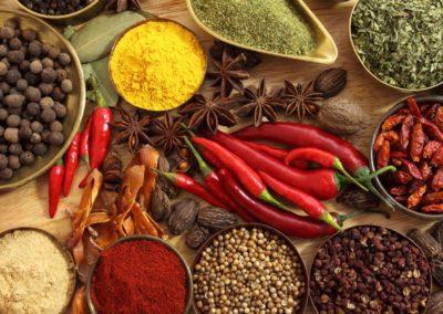 Hemsidor för restauranger - Kryddor