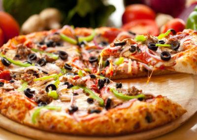 Hemsidor för restauranger - Pizza